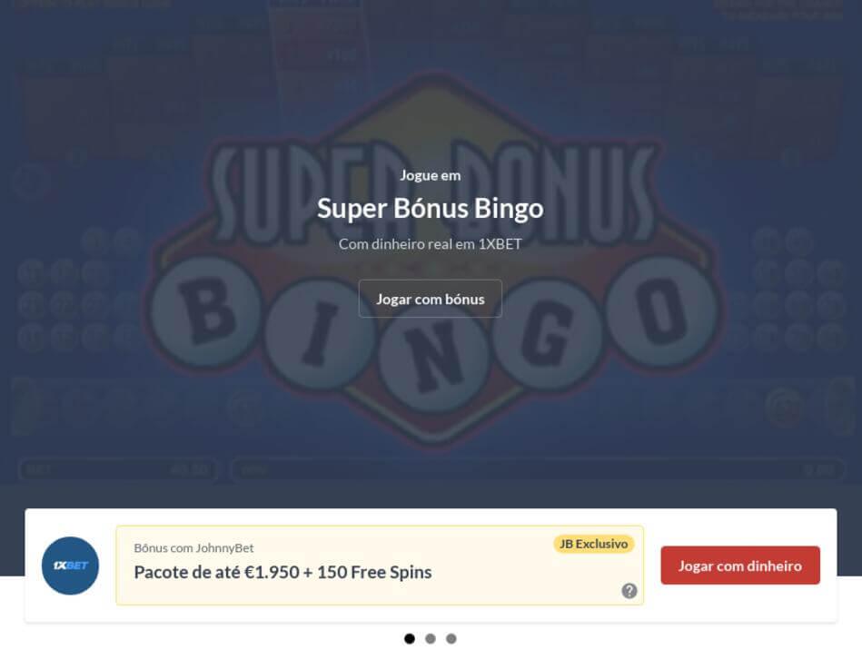 Bingo Online Valendo Dinheiro