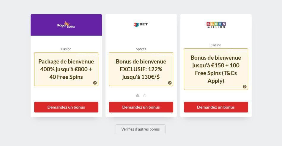 Slots Gratuits En Ligne Avec Bonus