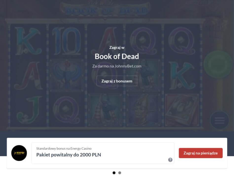 Book Of Dead Maszyna Slotowa