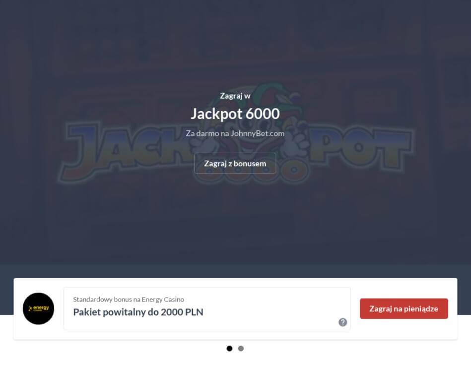 Jackpot 6000 Za Darmo