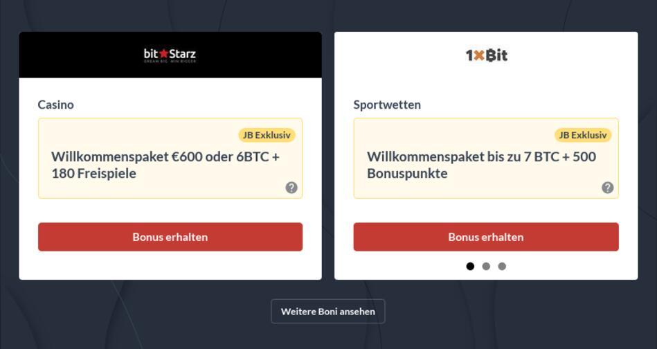 Bitcoin Casinos Deutschland