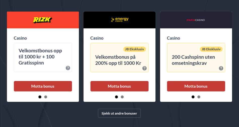 Beste Casino Bonuskoder