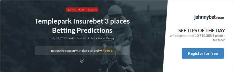 Betting insurebet 3 places to visit sports betting tv shows