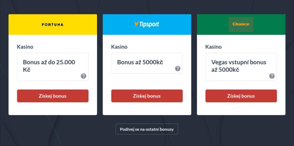 Internetové kasíno na peníze