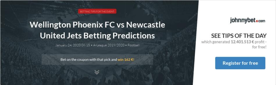 Newcastle jets vs wellington phoenix bettingexperts bitcoins hacker news jobs
