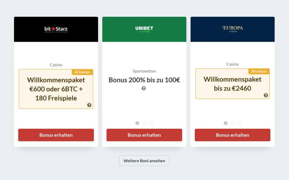Bester Online Casino Bonus 2020