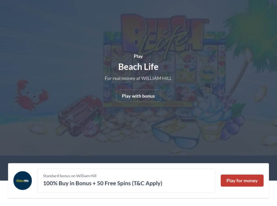 Download Beach Life Slot Machine For Mobile