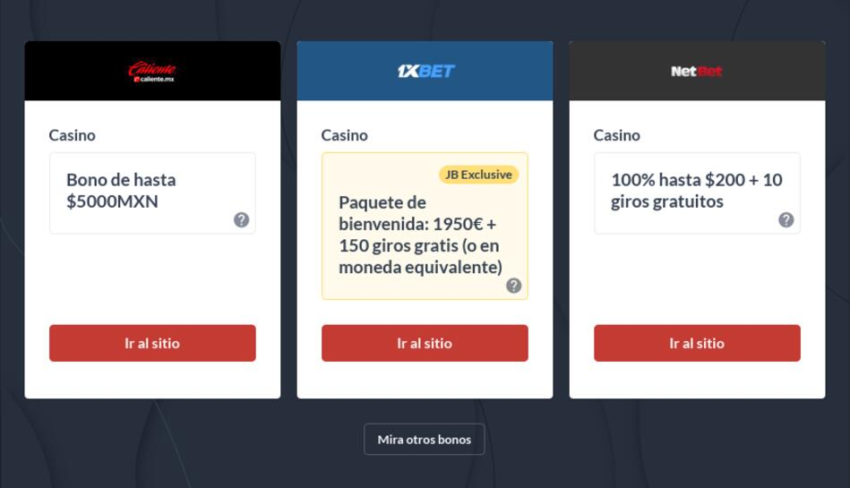 Mejores Casinos Online México
