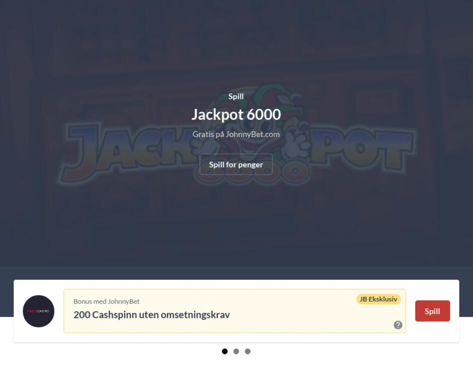 Norske Spillemaskiner på Nett