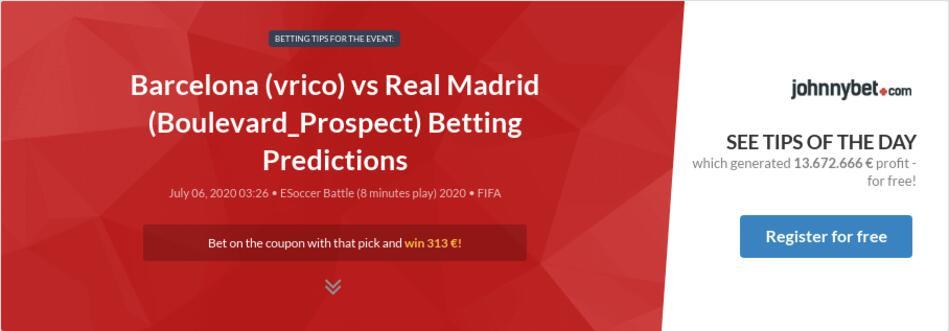 Real madrid v barcelona betting odds prix de l abbaye betting calculator