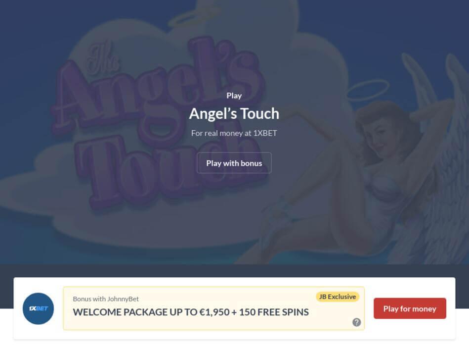 Angel's Touch Slot Machine