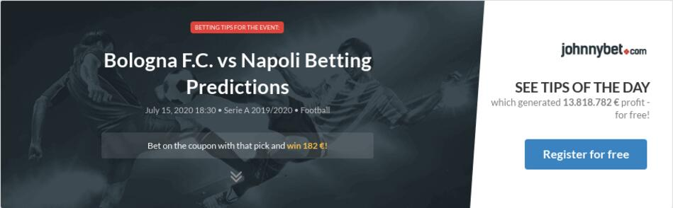 Bologna napoli betting experts google mining bitcoins in linux