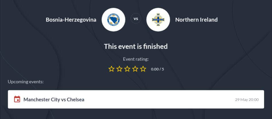Bosnia and Herzegovina vs Northern Ireland Predictions