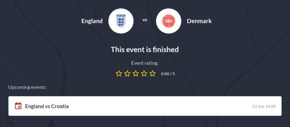 England vs Denmark Betting Tips