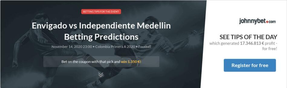 Dim vs envigado win sports betting short sale investopedia video on betting