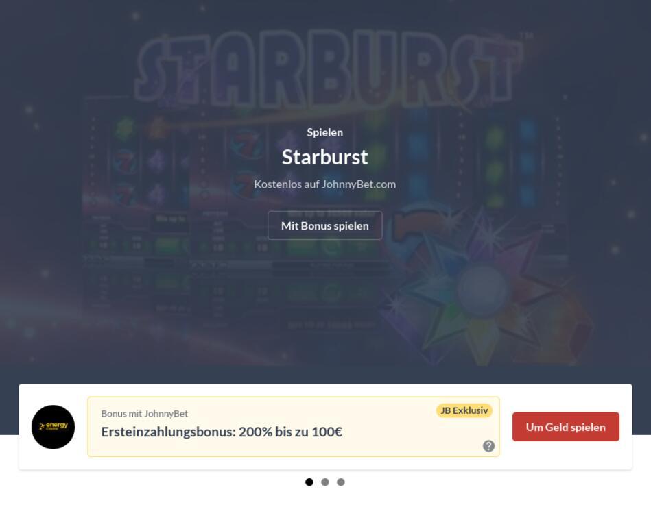 Online Slots mit Startguthaben