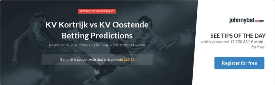 KV Kortrijk vs KV Oostende Betting Predictions