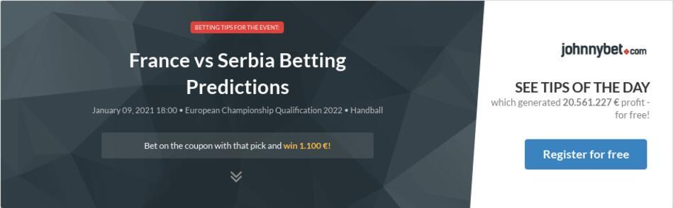 france vs serbia betting previews