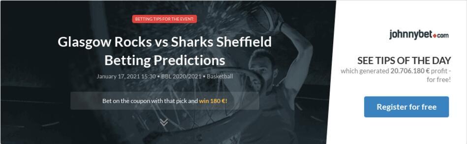 Glasgow Rocks vs Sharks Sheffield Betting Predictions