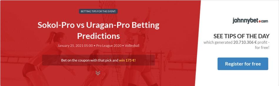 Sokol-Pro vs Uragan-Pro Betting Predictions
