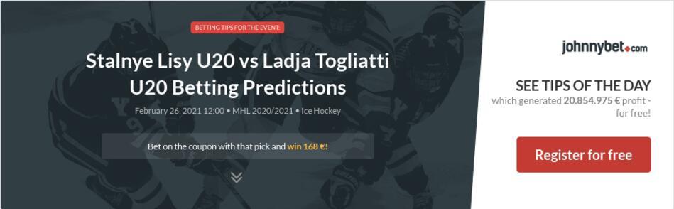 Stalnye Lisy U20 vs Ladja Togliatti U20 Betting Predictions