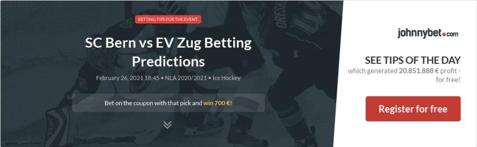 SC Bern vs EV Zug Betting Predictions