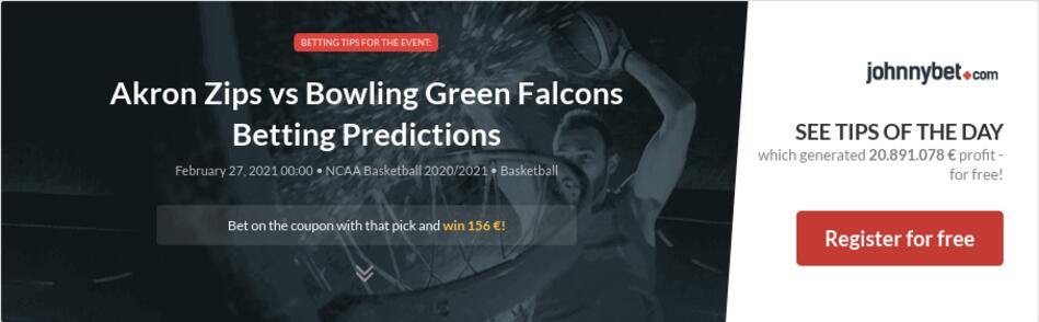 Akron Zips vs Bowling Green Falcons Betting Predictions