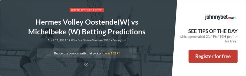 Hermes Volley Oostende(W) vs Michelbeke (W) Betting Predictions