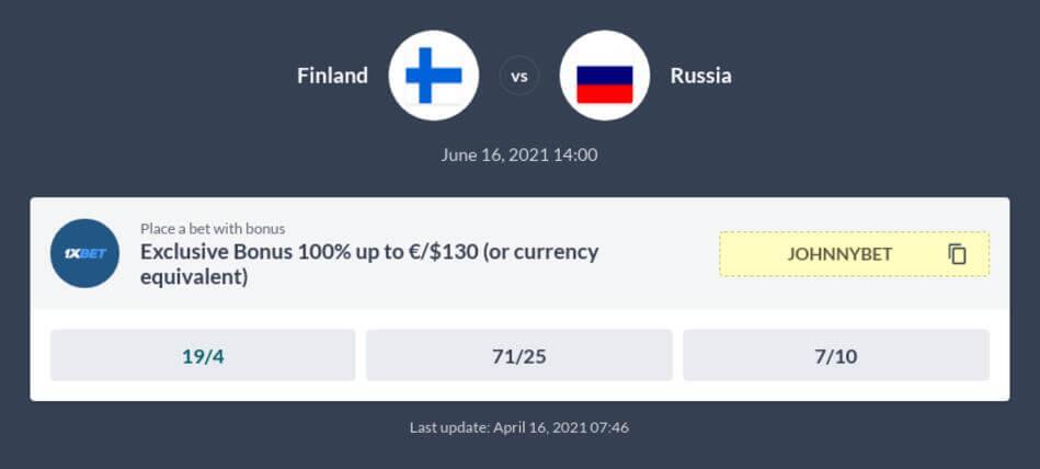 Finland vs Russia Predictions