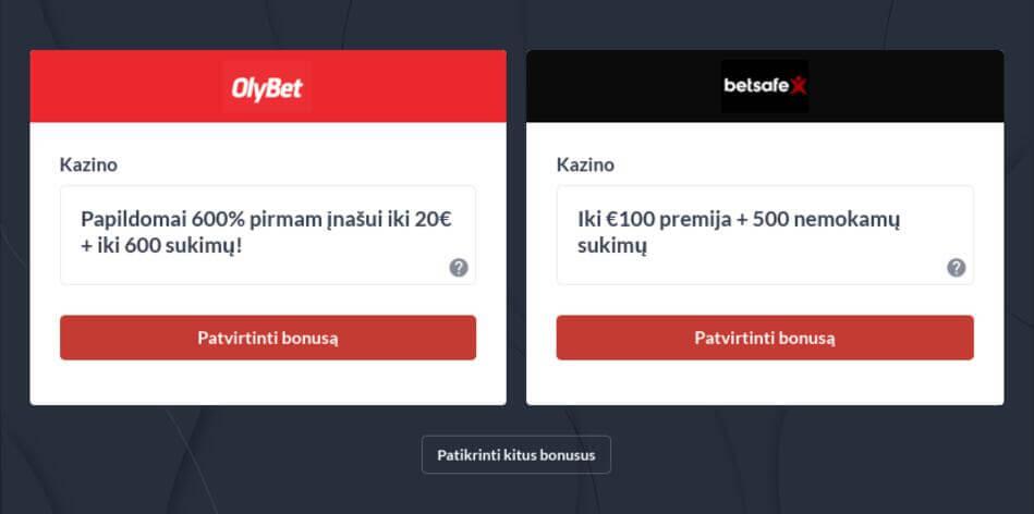 Lietuviškas Internetinis Casino