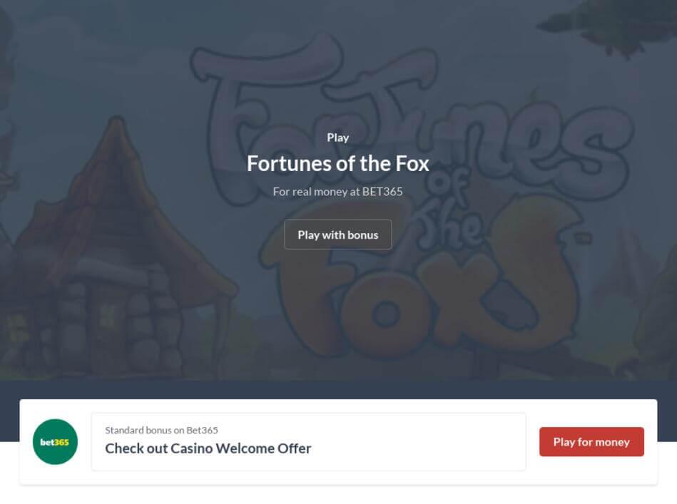 Fortunes of the Fox Slot Machine Online