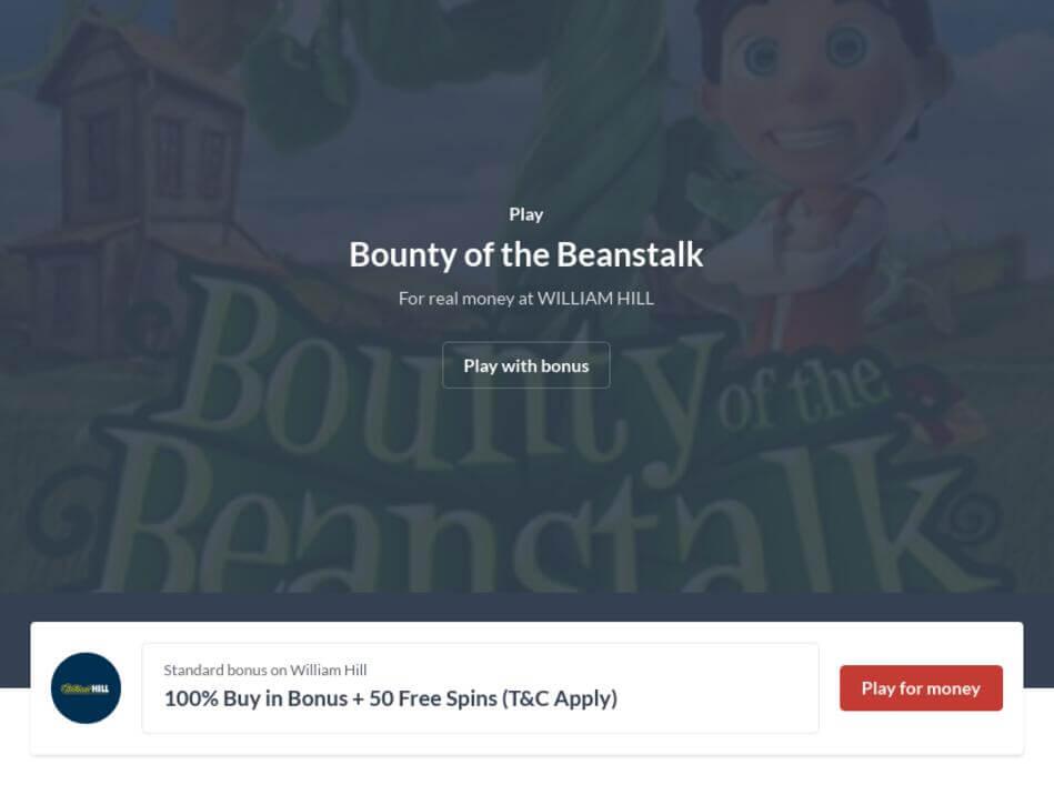 Bounty of the Beanstalk Slot