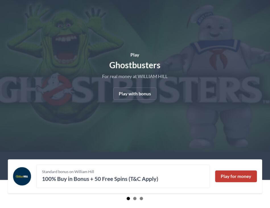 Play Ghostbusters Slot Machine Online Free
