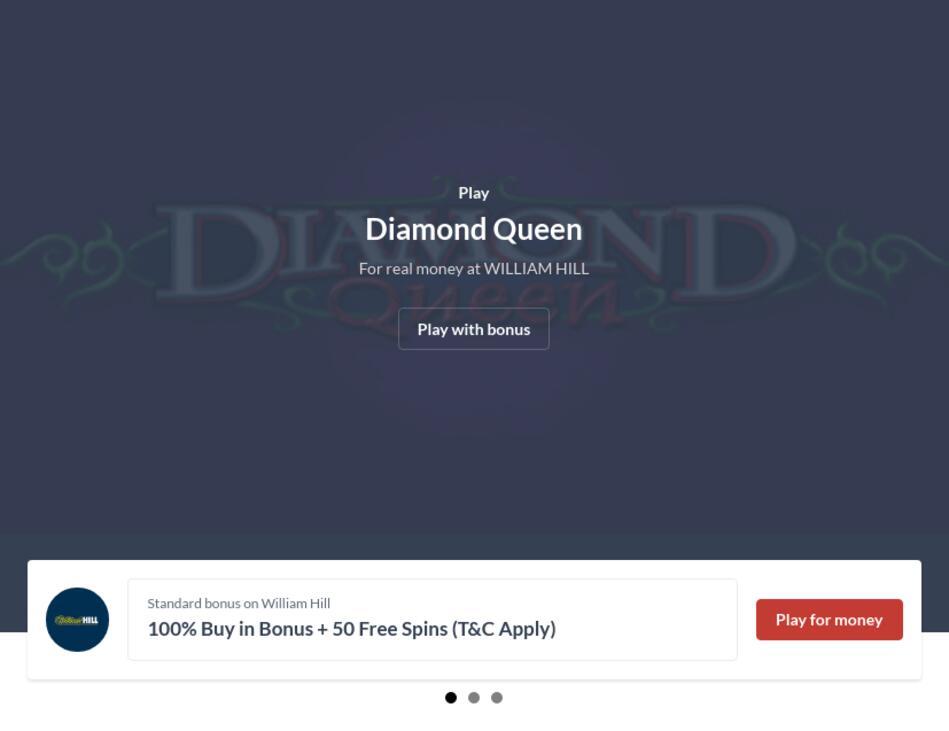 Play Free Diamond Queen Slot Machine Online