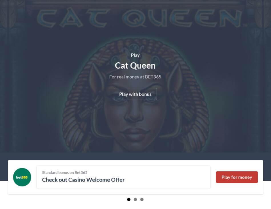 Cat Queen Slot Machine Download