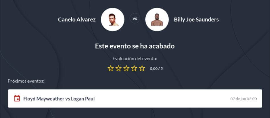 Pronóstico Canelo vs Billy Joe Saunders