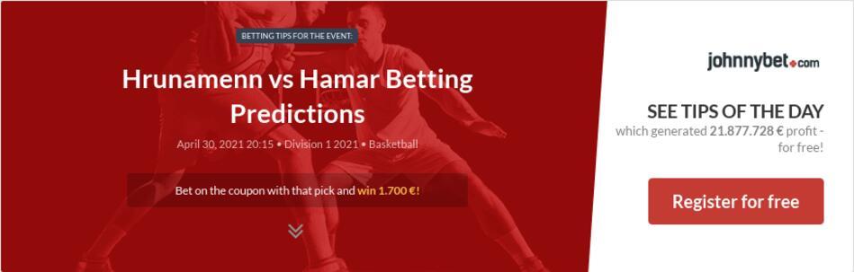 Hrunamenn vs Hamar Betting Predictions