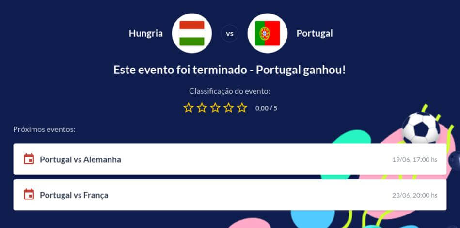 Prognóstico Portugal vs Hungria