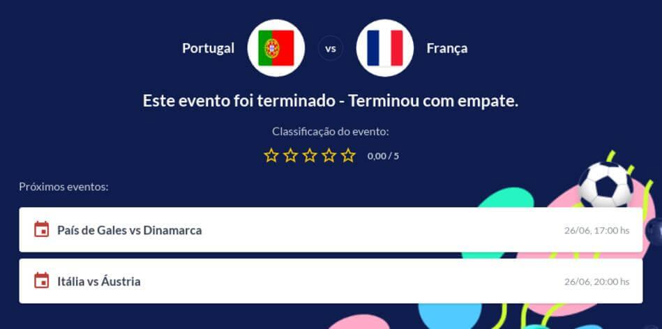Prognóstico Portugal vs França