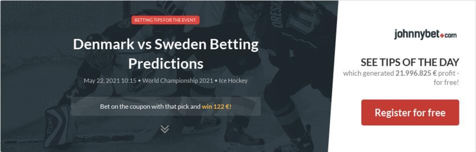 Denmark vs Sweden Betting Predictions