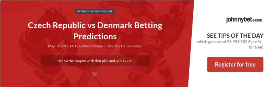 Czech Republic vs Denmark Betting Predictions