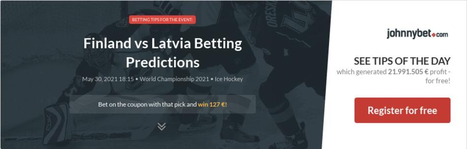 Finland vs Latvia Betting Predictions