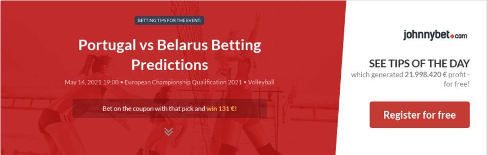 Portugal vs Belarus Betting Predictions