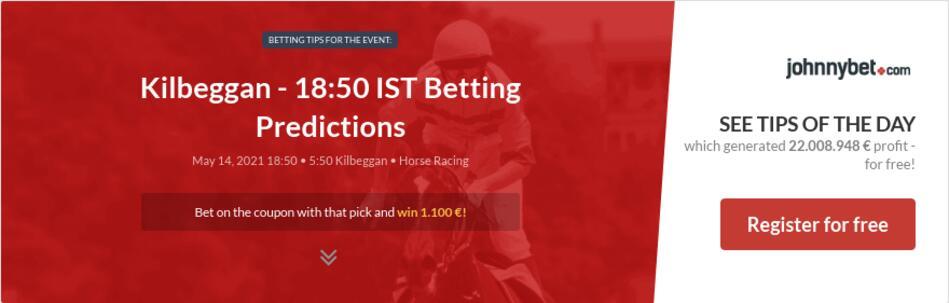 Kilbeggan - 18:50 IST Betting Predictions