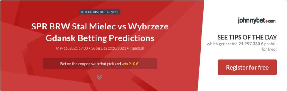 SPR BRW Stal Mielec vs Wybrzeze Gdansk Betting Predictions