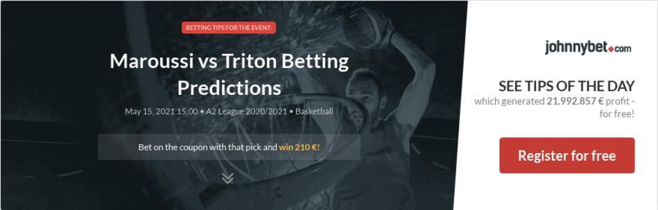 Maroussi vs Triton Betting Predictions