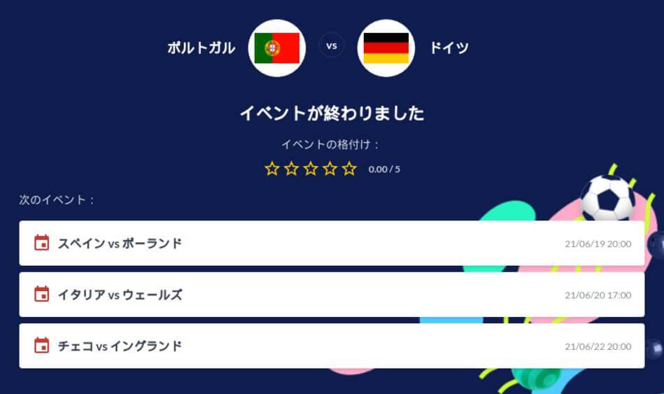 ポルトガル対ドイツの試合予想