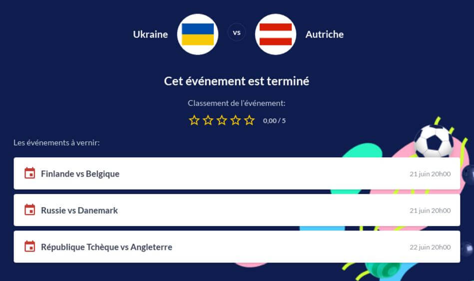 Pronostic Ukraine - Autriche