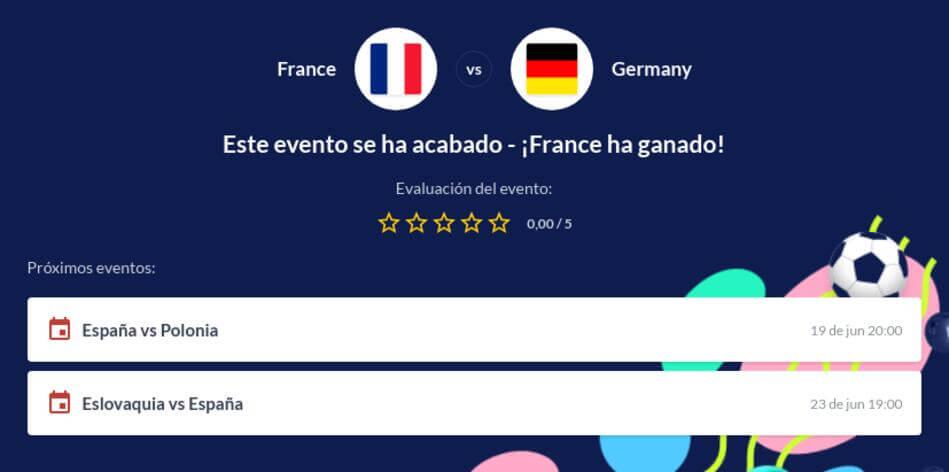 Pronóstico Francia vs Alemania
