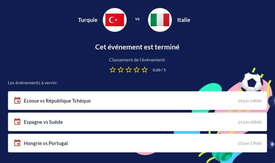 Pronostic Turquie - Italie